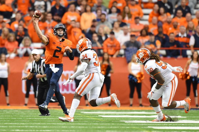 NCAA Football: Clemson at Syracuse