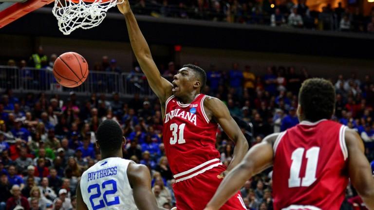 NCAA Basketball: NCAA Tournament-Second Round-Kentucky vs Indiana