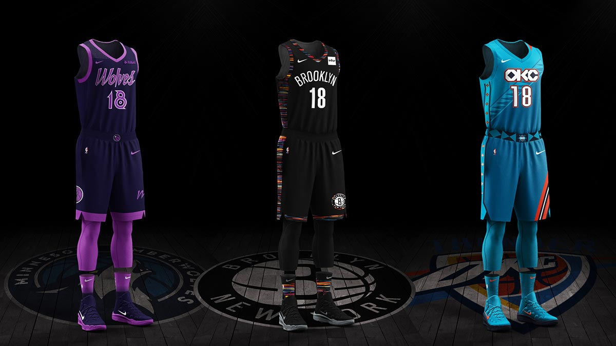 "8835c7960 Ranking The 2018-2019 NBA ""City Edition"" Uniforms By  Peter Snyder"