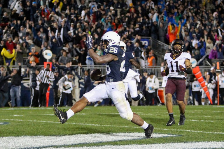 NCAA Football: Minnesota at Penn State